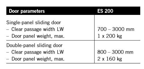 ES-200-規格表